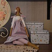 Куклы и игрушки ручной работы. Ярмарка Мастеров - ручная работа Сиреневая фея. Handmade.