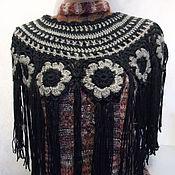 """Палантины ручной работы. Ярмарка Мастеров - ручная работа Накидка """"Эффектное дополнение""""на свитер, платье, пальто.. Handmade."""