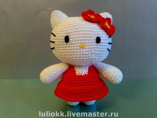 Миниатюра ручной работы. Ярмарка Мастеров - ручная работа. Купить Hello Kitty амигуруми. Handmade. Амигуруми, подарок