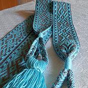Русский стиль handmade. Livemaster - original item belt alive. Handmade.