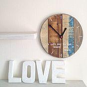 Для дома и интерьера ручной работы. Ярмарка Мастеров - ручная работа Часы круглые. Handmade.
