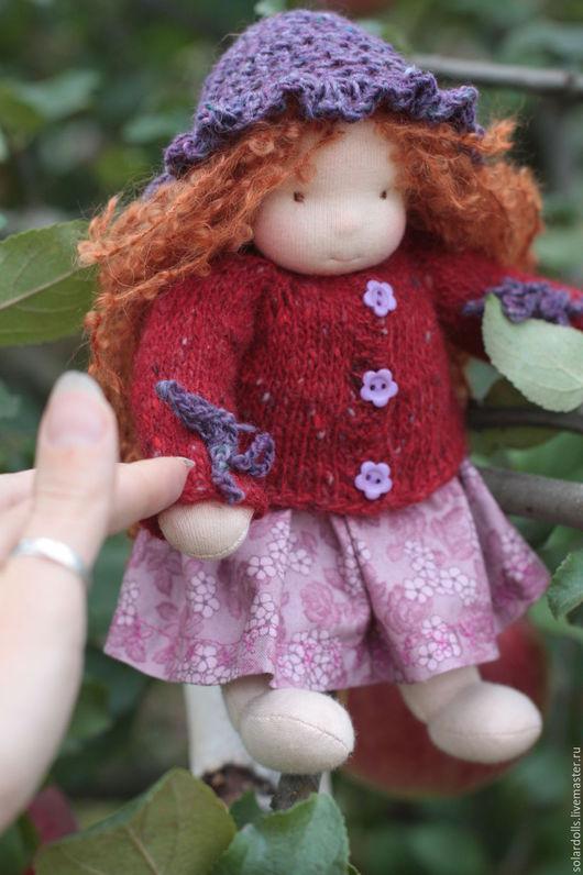 Виктория 22 см Вальдорфские куклы.Julia Solarrain (SolarDolls) Ярмарка Мастеров