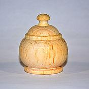 Материалы для творчества handmade. Livemaster - original item A Cup a blank for Decoupage A box for Painting Siberian Cedar DK3. Handmade.