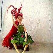 Куклы и игрушки ручной работы. Ярмарка Мастеров - ручная работа Эльфийка. Продажа возможна.. Handmade.