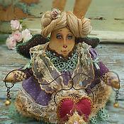 Куклы и игрушки ручной работы. Ярмарка Мастеров - ручная работа Гостинчик от зайчика.... Handmade.