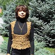 """Одежда ручной работы. Ярмарка Мастеров - ручная работа Жилет валяный """"Fawn"""". Handmade."""