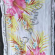 Fabric handmade. Livemaster - original item Silk stole Lily. Handmade.