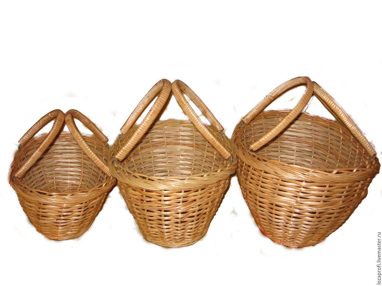 Плетёные корзины самара
