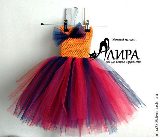 Одежда для девочек, ручной работы. Ярмарка Мастеров - ручная работа. Купить Платье-пачка для девочки. Handmade. Комбинированный, фатин