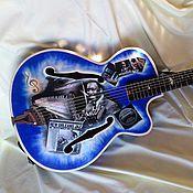 Музыкальные инструменты ручной работы. Ярмарка Мастеров - ручная работа Джазовая гитара памяти известного джазового гитариста Уэса Монтгомери. Handmade.