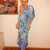 Платья ручной работы. Ярмарка Мастеров - ручная работа платье модельное- Утро. Handmade.
