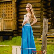 Одежда handmade. Livemaster - original item Floor-length skirt