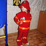 Одежда ручной работы. Ярмарка Мастеров - ручная работа Костюм пожарника. Handmade.