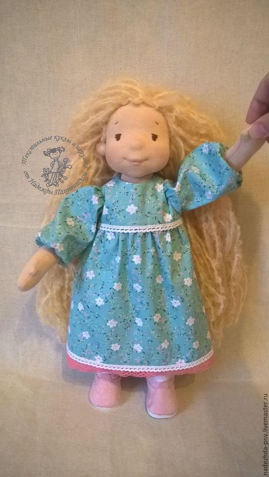 Вальдорфская игрушка ручной работы. Ярмарка Мастеров - ручная работа. Купить Вальдорфская, игровая куколка. Handmade. Вальдорфская кукла
