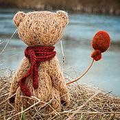 Куклы и игрушки ручной работы. Ярмарка Мастеров - ручная работа мишка тедди Апрель. Handmade.