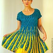 """Одежда ручной работы. Ярмарка Мастеров - ручная работа Туника-платье """"Лето, вернись!"""". Handmade."""