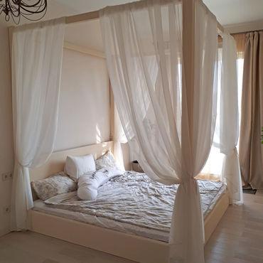 Для дома и интерьера ручной работы. Ярмарка Мастеров - ручная работа Балдахин на деревянную кровать. Handmade.
