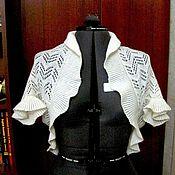 Одежда ручной работы. Ярмарка Мастеров - ручная работа ажурное болеро. Handmade.