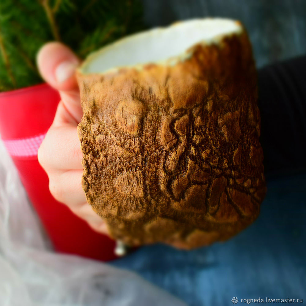 Brown hand warming mug, Mugs and cups, Moscow,  Фото №1