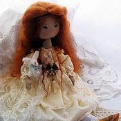 Куклы и игрушки ручной работы. Ярмарка Мастеров - ручная работа Злата. Текстильная интерьерная кукла.. Handmade.