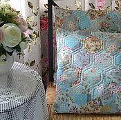 Для дома и интерьера ручной работы. Ярмарка Мастеров - ручная работа лоскутные наволочки ,,нежность ,,. Handmade.