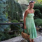 Одежда ручной работы. Ярмарка Мастеров - ручная работа платье №5. Handmade.