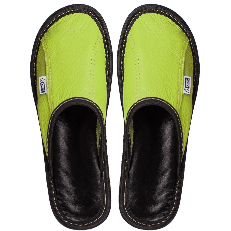 Домашняя обувь из натуральной кожи, Тапочки, Калининград,  Фото №1