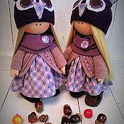 Куклы и игрушки ручной работы. Ярмарка Мастеров - ручная работа Кукла текстильная интерьерная Совушка. Handmade.