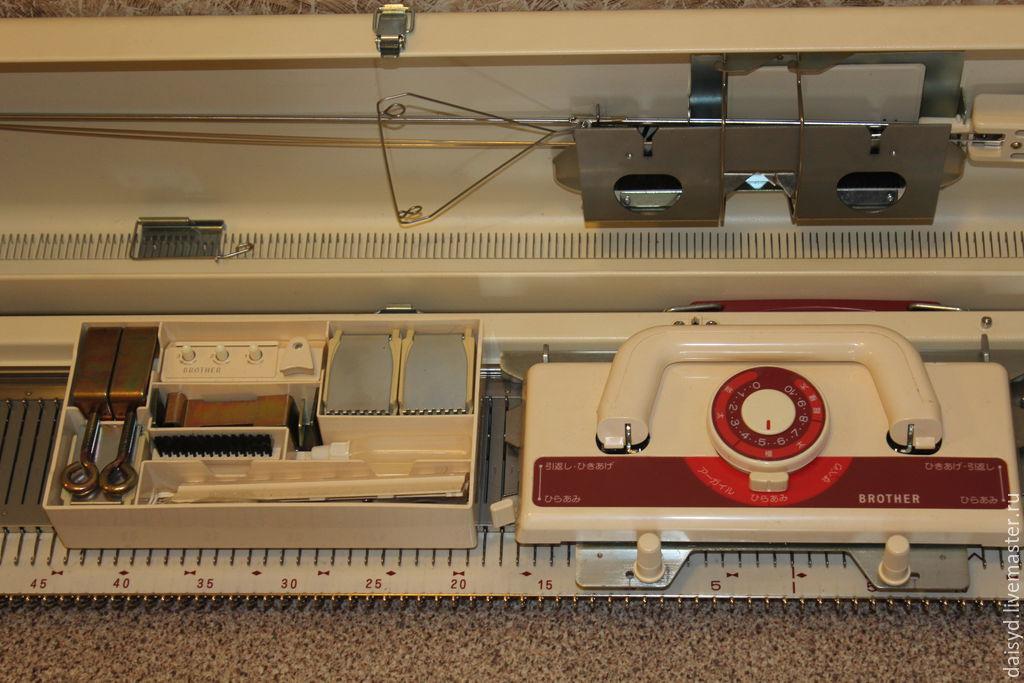 Brother KH 230, 3  класса вязальная машина, новая, Япония, Инструменты для вязания, Хабаровск,  Фото №1