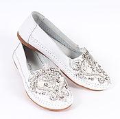 Обувь ручной работы. Ярмарка Мастеров - ручная работа Мокасины из натуральной кожи. Handmade.