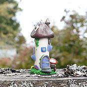 """Сувениры и подарки ручной работы. Ярмарка Мастеров - ручная работа Подвеска-статуэтка """"Домик с книгой"""". Handmade."""