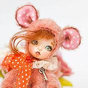 Куклы и игрушки ручной работы. Ярмарка Мастеров - ручная работа Тедди долл.мышка Бель. Handmade.