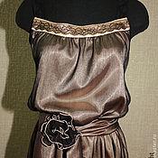 Одежда handmade. Livemaster - original item Chiffon dress neovintage. Handmade.