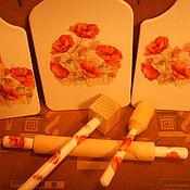Для дома и интерьера ручной работы. Ярмарка Мастеров - ручная работа кухонный набор. Handmade.