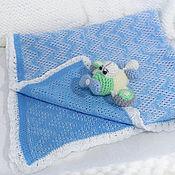 Работы для детей, ручной работы. Ярмарка Мастеров - ручная работа В облаках плед в коляску и кроватку. Handmade.