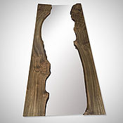 Для дома и интерьера handmade. Livemaster - original item A large mirror in a gorgeous frame made of elm. Handmade.