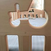 Для дома и интерьера handmade. Livemaster - original item Baby cot from solid cedar. Handmade.