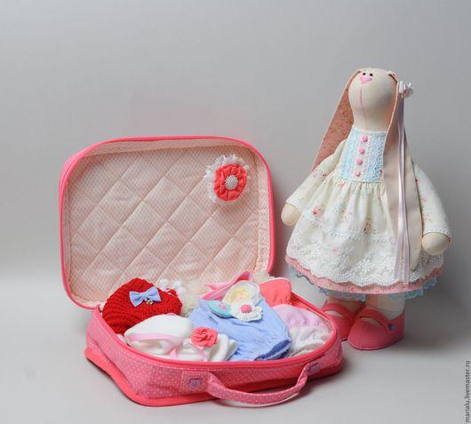 Куклы Тильды ручной работы. Ярмарка Мастеров - ручная работа. Купить Зайка для девочки. Handmade. Игрушка ручной работы, фетр