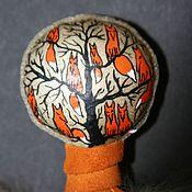 """Фен-шуй и эзотерика ручной работы. Ярмарка Мастеров - ручная работа Шаманская погремушка """" Лисья """". Handmade."""