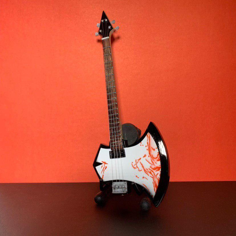 Сувенирная мини гитара Kiss, Инструменты, Москва, Фото №1
