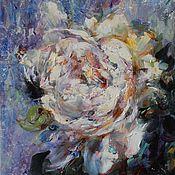 """Картины и панно ручной работы. Ярмарка Мастеров - ручная работа Картина """"Белый"""".. Handmade."""