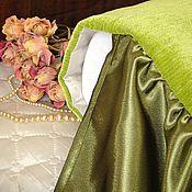 Для дома и интерьера ручной работы. Ярмарка Мастеров - ручная работа Покрывало на кровать с подворотом Свежее утро Большое покрывало. Handmade.