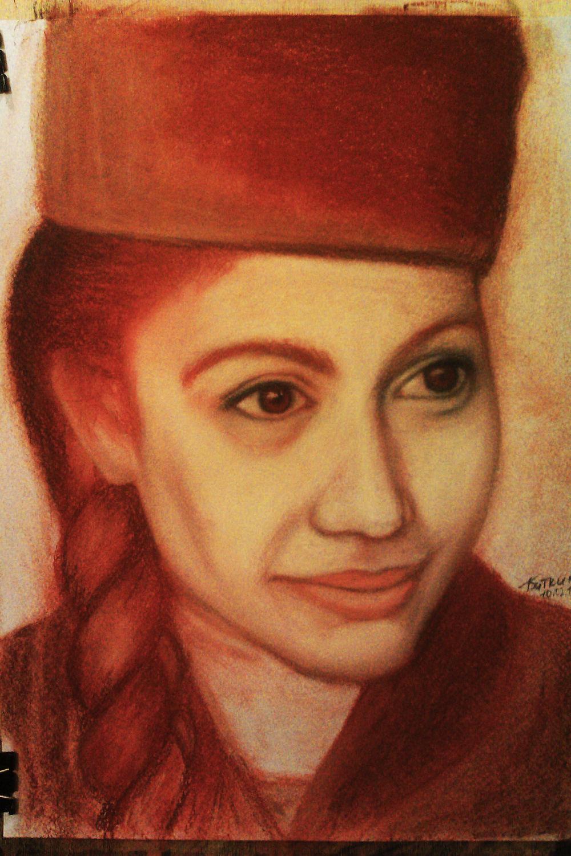 Фото в карандаш как портрет