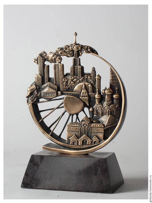 Корпоративная статуэтка из металла  Вип подарок
