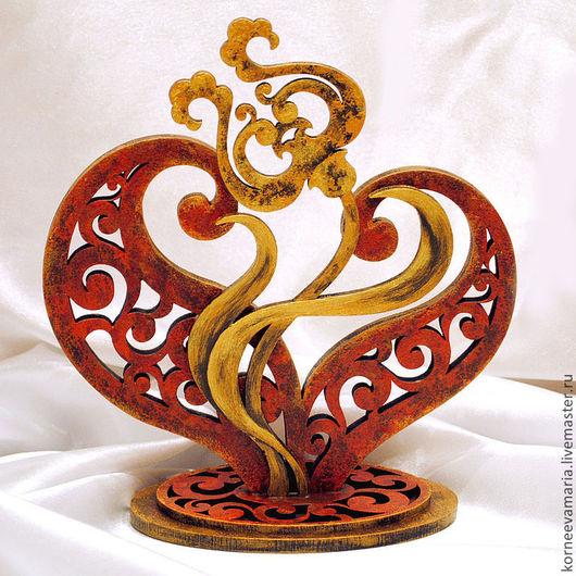 """Статуэтки ручной работы. Ярмарка Мастеров - ручная работа. Купить Статуэтка """"Волшебный цветок 2"""". Handmade. Золотой, цветок"""