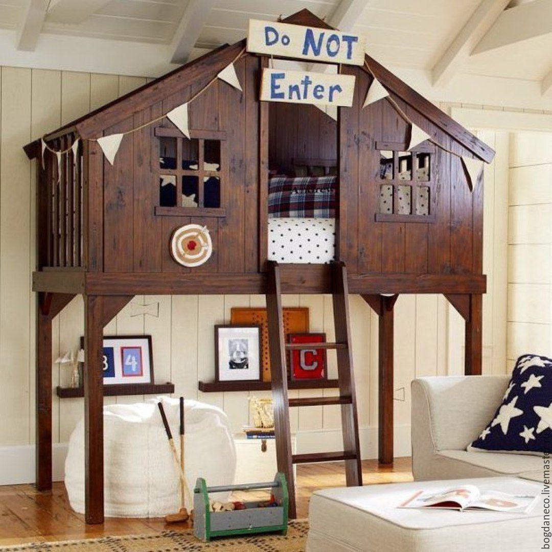 Оригинальные детские домики своими руками