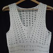 Одежда ручной работы. Ярмарка Мастеров - ручная работа пляжное платье Дженни. Handmade.
