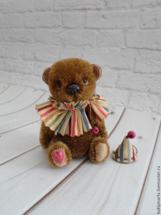 Мишки Тедди ручной работы. Ярмарка Мастеров - ручная работа. Купить Фокус. Handmade. Коричневый, миник, ooak, художественное масло