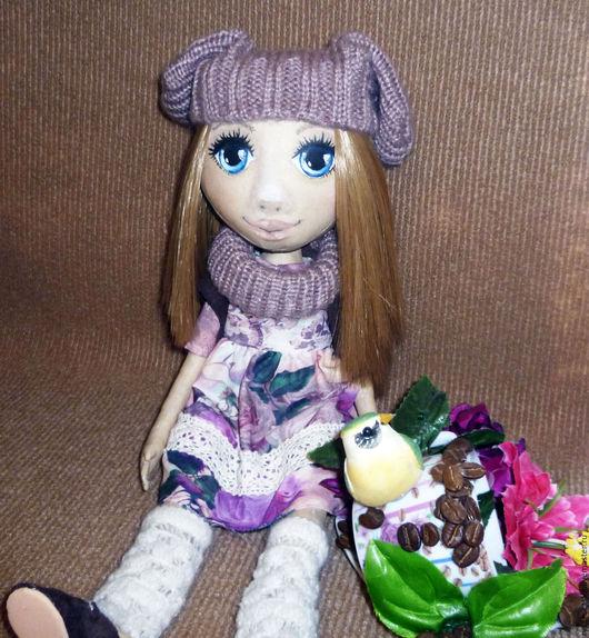 Коллекционные куклы ручной работы. Ярмарка Мастеров - ручная работа. Купить Леля. Текстильная кукла. Коллекционная. Handmade. Комбинированный