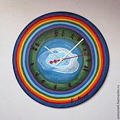 Для дома и интерьера ручной работы. Ярмарка Мастеров - ручная работа Уникальные авторские часы в стиле андеграунд. 6 штук.. Handmade.